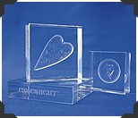 clear acrylic heart stamps